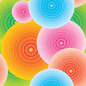 Endless color cirlce background — Stock Photo