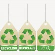 Recycling tags — Stock Vector #4676271