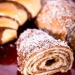 Sweet croissant — Stock Photo