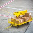 Cargo for an airplane — Stock Photo
