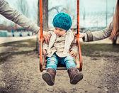Conceito de divórcio e separação — Foto Stock