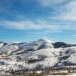 Stock Photo: Winter Mountain Landscape
