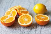 オレンジとレモン — ストック写真