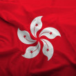 Stock Photo: Hong Kong Flag