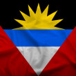 Antiqua et Barbuda Flag — Stock Photo