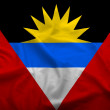 Antigua et Barbuda flag — Stock Photo