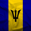 Stock Photo: Barbados flag