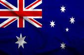 Australia flag — Stock Photo