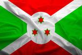 Bandeira do burundi — Fotografia Stock