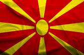 Drapeau de la Macédoine — Photo