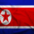 North Korea flag — Stockfoto