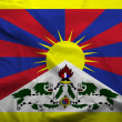 Tibet Flag — Stock Photo
