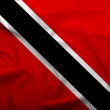 Trinidad and Tobago flag — Stock Photo