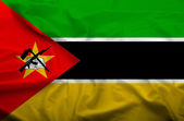 Mozambique flag — Stock Photo