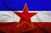 Jugoslawien-flag — Stockfoto