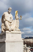 Polybius Statue at Parliament in Vienna - Austria — Stock Photo