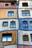 Hundertwasser House in Vienna — Stock Photo