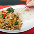 Delicious Asian food — Stock Photo