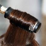 Long straight hair and hairbrush — Stock Photo #2149755