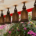 Bells at Big Buddha Hill temple, Pattaya. — Stock Photo