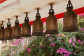 Bells at Big Buddha Hill temple, Pattaya. — Stock Photo
