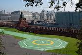 Helipad in the Moscow Kremlin — Stock Photo