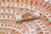 Five Thousand Ruble Notes - One million rubles. — Stock Photo