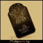 Gold-tag — Stockvektor