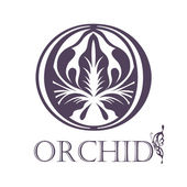 Lotus or orchid symbol. — Stockvektor