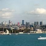 Istanbul skyline panorama — Stock Photo
