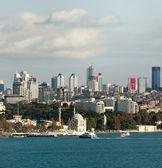 Istanbul-finanzplatz-ansicht — Stockfoto