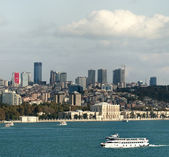 Istanbul financial center view — Stock Photo