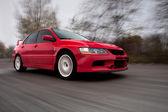 Sportovní vůz, rozmazaný pohyb — Stock fotografie