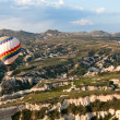 Hot air baloon in Cappadocia — Stock Photo