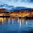 Hobart Waterfront — Foto de Stock