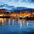 图库照片: Hobart Waterfront