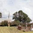Cemetery and Church — Stock Photo #14171774