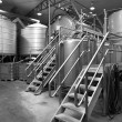 Interior of Distillery — Stock Photo