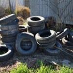 Car Tyres — Stock Photo #1784239