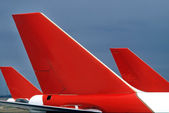 Aircraft Tail — Stock Photo