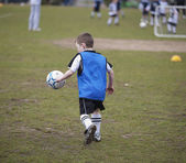 Soccer Boy — Stock Photo