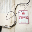No Stopping — Stock Photo