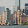 Manhattan Skyline — Stockfoto
