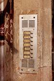 Apartment Intercom — Foto Stock