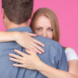 Woman and Man Hugging — Stock Photo #47990585