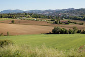 Farmland Perugia — Stock Photo