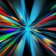 Abstract night acceleration - Stock Photo