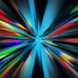 Stock Photo: Abstract night acceleration