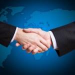 Handshake business — Stock Photo