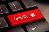Güvenlik düğmesini anahtarı — Stok fotoğraf
